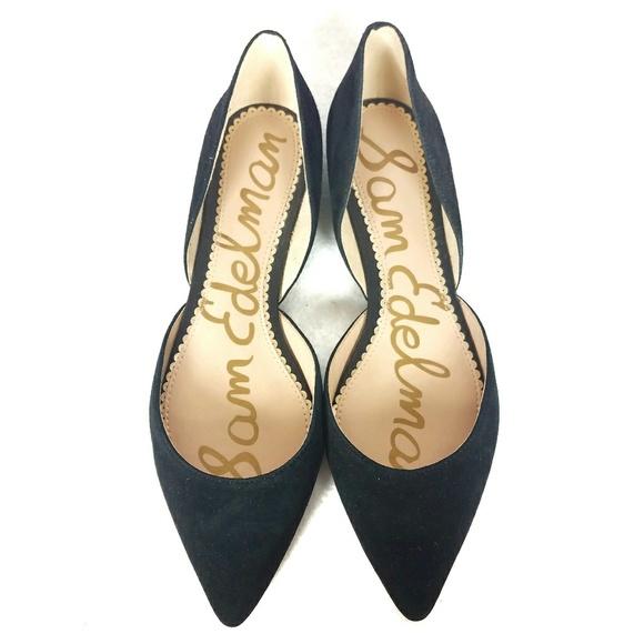 a741e6d887f7d Sam Edelman Shoes - Sam Edelman - Rooney Pointed Toe Suede Flats